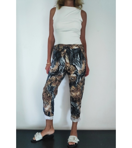 מכנסיים מנומרים one size