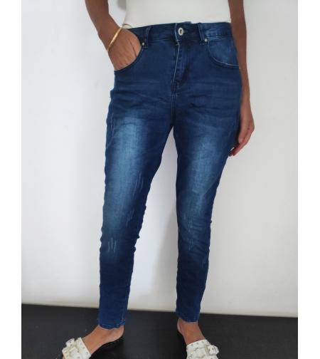ג'ינס משופשף