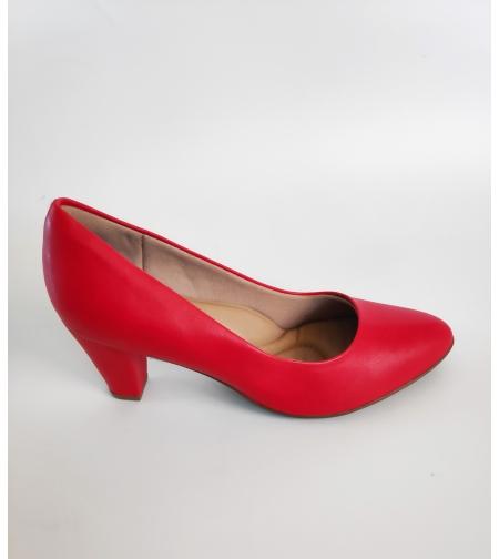 Fly foot סירה בצבע אדום