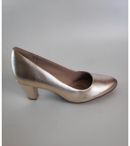 Fly foot סירה צבע זהב
