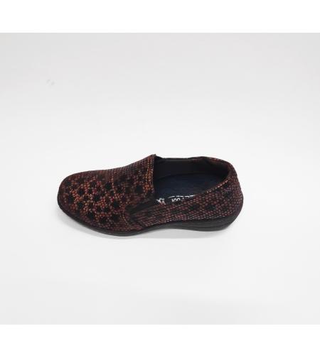 Fly foot נעל נוחות צבע חום