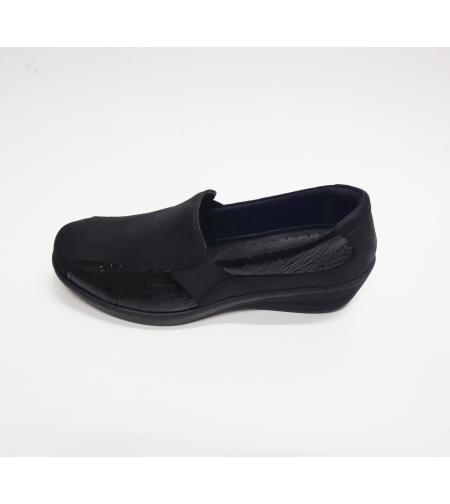 Fly foot נעל נוחות צבע שחור