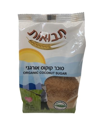 סוכר קוקוס אורגני  300 גרם