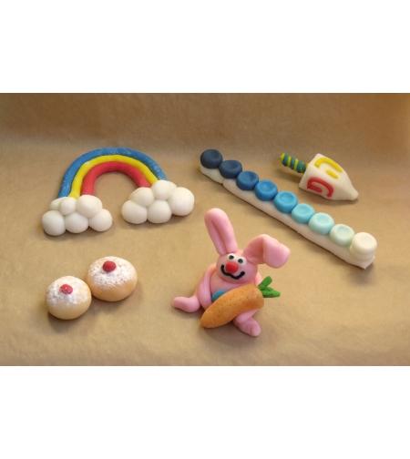 עיצוב בבצק סוכר