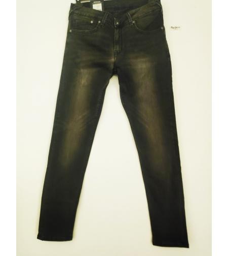 Pepe jeans ג'ינס שחור עם שיפשוף עדין