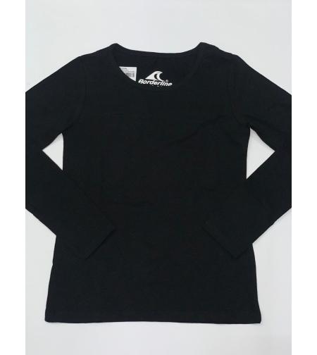 חולצה לייקרה בנות שרוול ארוך-מעבר (בית ספר) Borderline