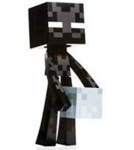 מיינקרפט  בובה שחורה גדולה