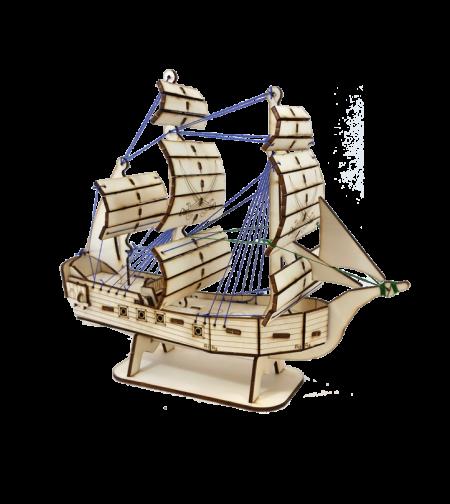 ערכה להרכבת סירה