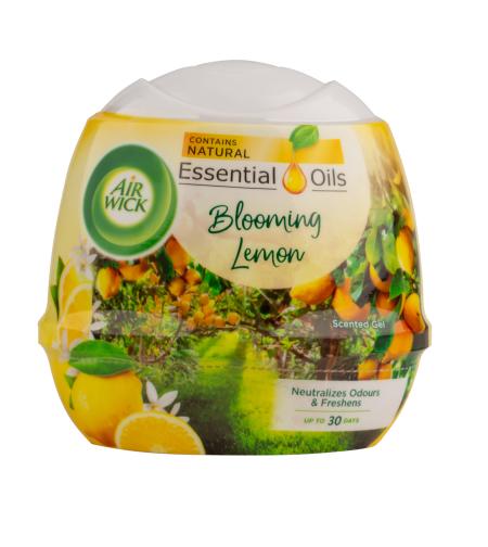 מבשם ג'ל מוצק איירוויק בניחוח לימון 180 גרם