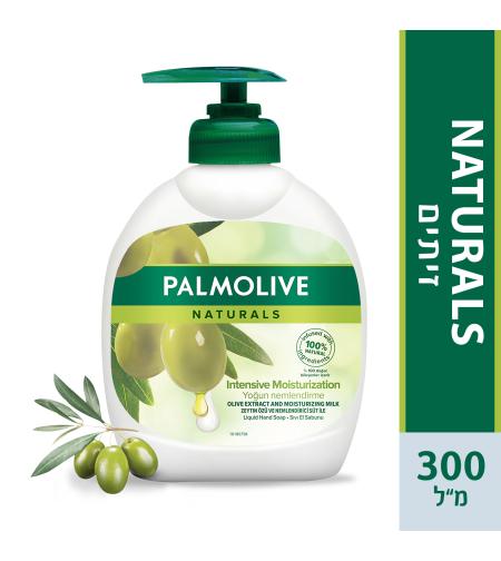 פלמוליב סבון ידיים חלב זייתים 300