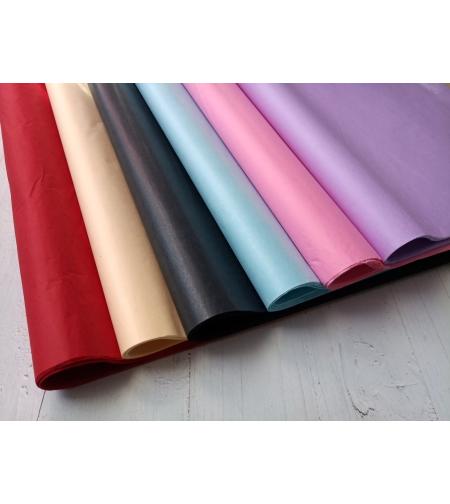נייר משי צבעוני צבע שמנת - 10 יחידות