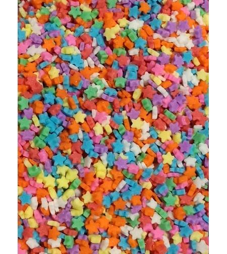 סוכריות מיני כוכבים צבעוניים (3 מ