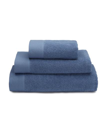 מגבת לוטוס אמבט 68*125  כחול