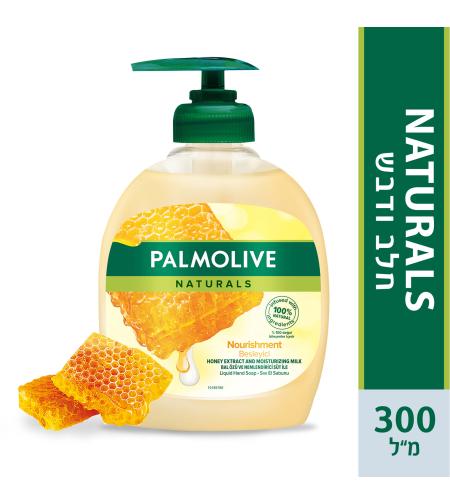 פלמוליב סבון ידיים חלב ודבש 300מ