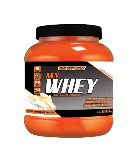 MY WHEY שוקולד לבן 600 גרם