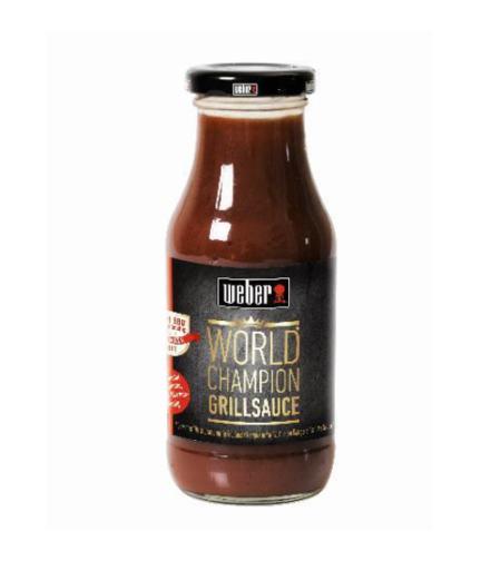 WEBER - WORLD CHAMPION BBQ SAUCE (250 ML)