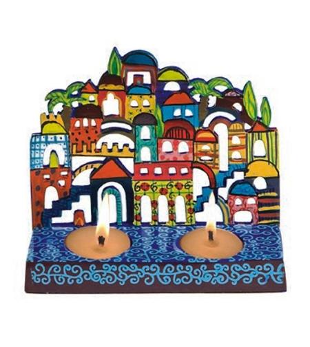 פמוטים ירושלים צבעוניים