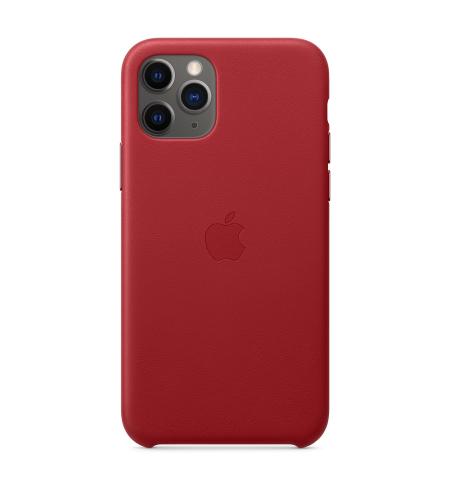 כיסוי עור ל- iPhone 11 Pro Max בצבע אדום מבית Apple