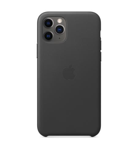 כיסוי עור ל- iPhone 11 Pro בצבע שחור מבית Apple