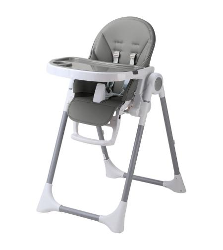 """כיסא אוכל אינפנטי דגם """"אניס"""" אפור"""