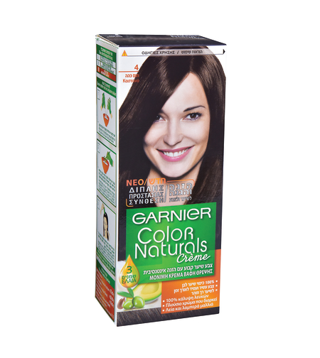צבע לשיער קולור נטורלס חום טבעי 4