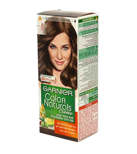 צבע לשיער קולור נטורלס גוון חום בהיר 6