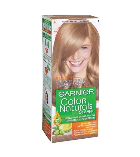 צבע לשיער קולור נטורלס גוון 8.1 בלונד אפרפר בהיר