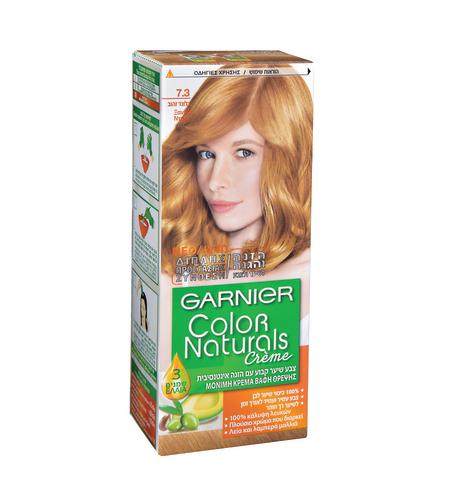 צבע לשיער קולור נטורלס גוון 7.3 בלונד זהוב