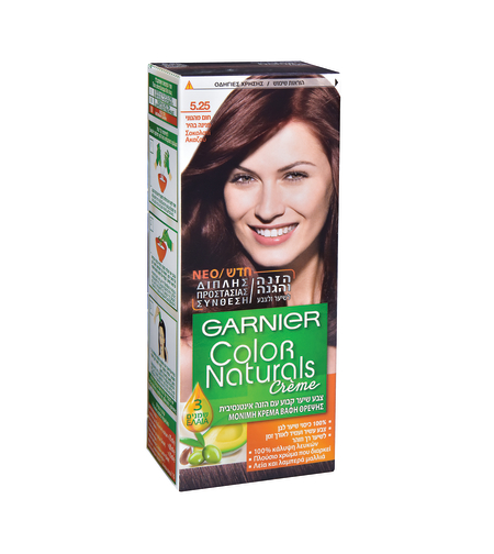 צבע לשיער קולור נטורלס חום מהגוני 5.25