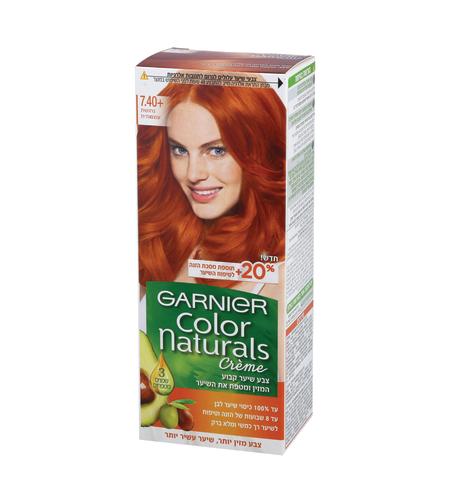 צבע לשיער  קולר נטורלס 7.40 נחושת עוצמתי