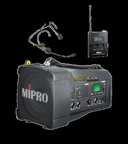 בידורית אלחוטית עם מיקרופון מדונה MIPRO MA-100SU-M