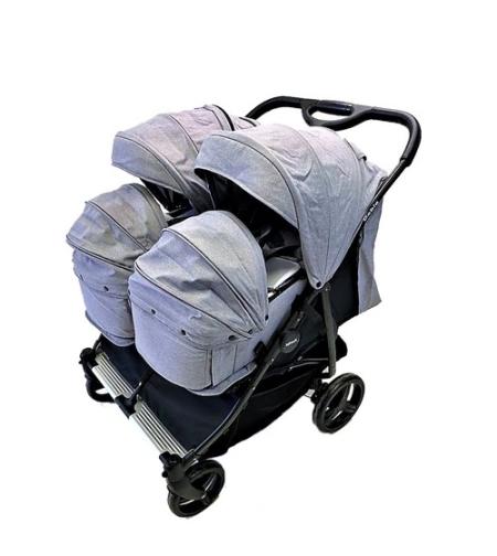 זוג סלי שכיבה INFANTI DOBLO (אמבטיה) עבור עגלת תאומים דובלו