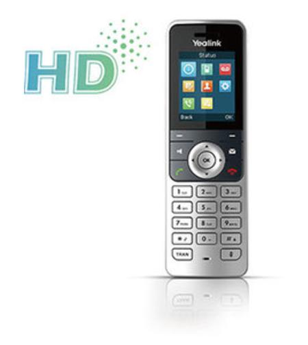 טלפון אלחוטי Yealink DECT-SIP W53H