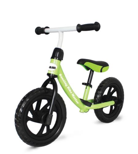 אופני איזון IAM + מדרך רגליים ירוק