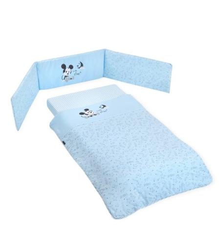 סט קומפלט למיטת תינוק סטארי נייט מיקי כחול