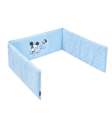 מגן ראש למיטת תינוק סטארי נייט מיקי כחול
