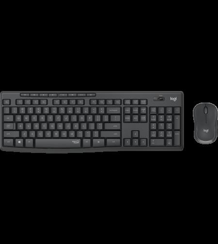 סט מקלדת ועכבר אלחוטיים לוגיטק Logitech Wireless Combo MK295 עברית ואנגלית