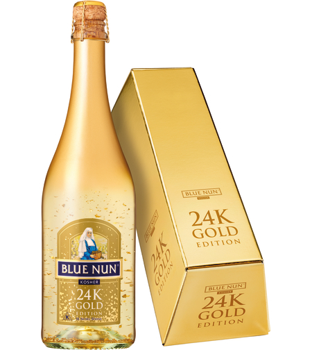 BLUE NUN 24K GOLD מבעבע בקופסה | כשר