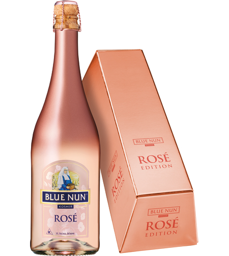 BLUE NUN ROSE מבעבע בקופסה | כשר