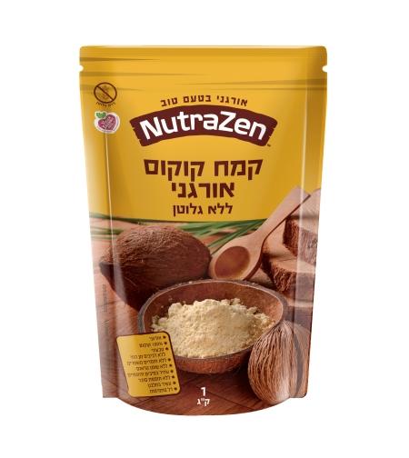 קמח קוקוס, אורגני, ללא גלוטן- נוטרה זן