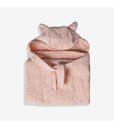 מגבת עם קשירה לצוואר - מיננה