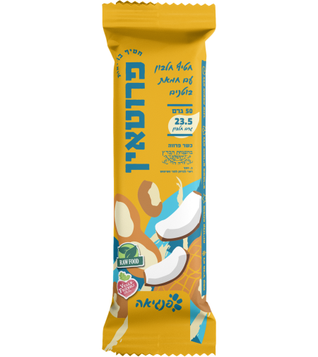 פרוטאין חטיף חלבון עם חמאת בוטנים