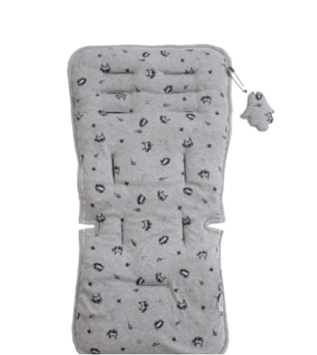 ריפודית לעגלת תינוק אפור מלאנג' - מיננה