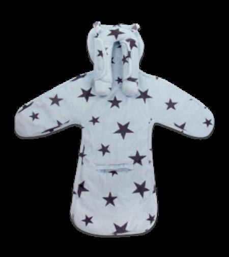 מארז מושלם לסלקל פופי תכלת כוכבים - מיננה