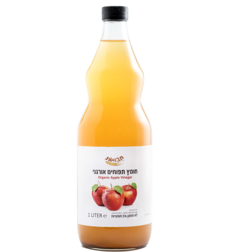 חומץ תפוח אורגני מסונן