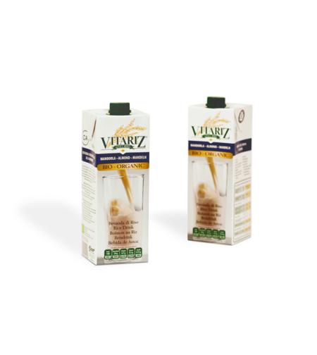 ויטריז - משקה אורז עם שקדים אורגני