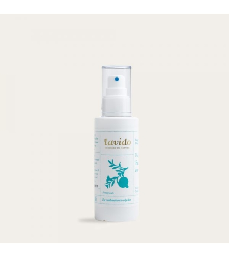 סבון פנים לעור מעורב עד שמן- זרעי רימון, ניצת התפוז ופרופוליס  - לבידו