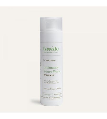 סבון אינטימי- עץ התה ולבנדר  - לבידו