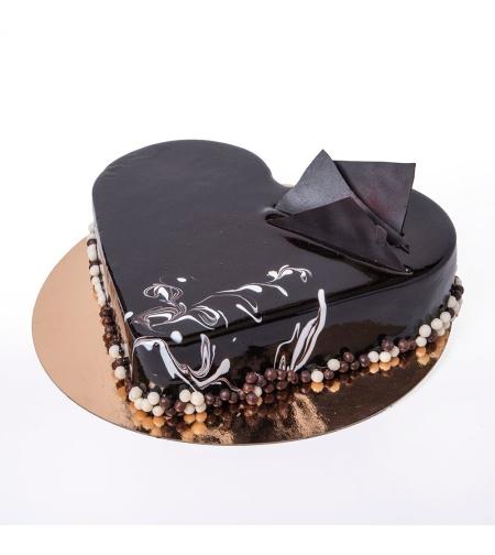 עוגת קרם שוקולד מוקצף | חלבי - כשר