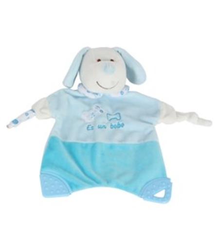 שמיכה עם רעשן ונשכן טוויגי Twigy Soft Touch™ Blanket With Rattle